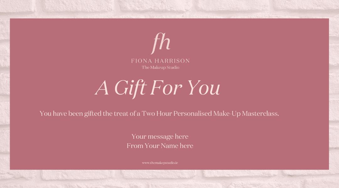 Gift Voucher – Make-Up Lesson