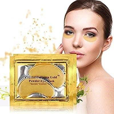 Crystal Collagen Gold Hyaluronic Eye Masks (Pack of 10)